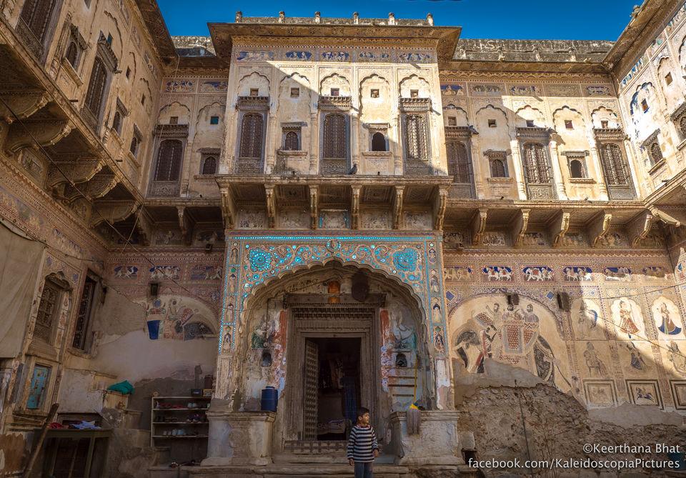 The painted havelis ofShekhawati