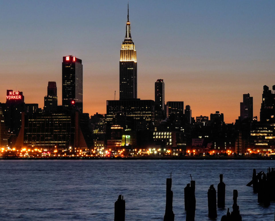 Photos of Empire State Building from NJ 1/10 by Magdalene