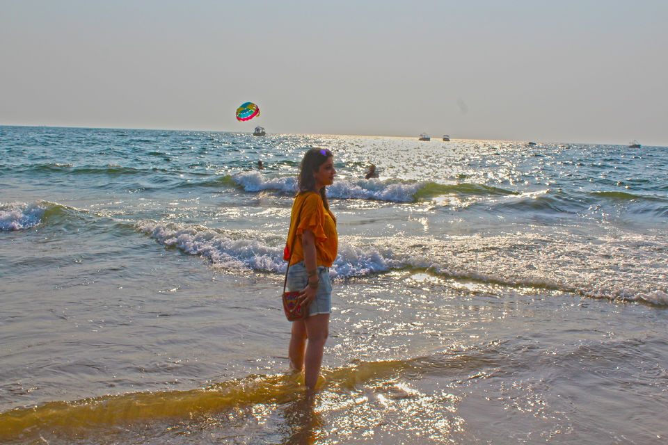 """Photos of The """"IT"""" Beaches of North Goa mapped out! Goan Adventures Day 3/5! 1/1 by Himakshi Joshi"""