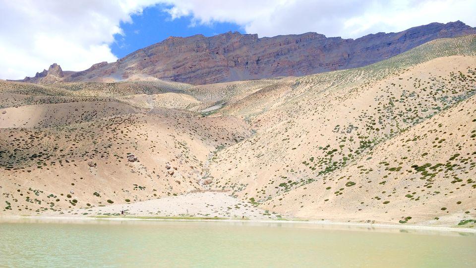 "Photos of Dhankar Lake<a href=""https://www.tripoto.com/trips/create/tripoto-5985e907e52f5"">https://www.tripoto.com/trips/create/tripoto-5985e907e52f5</a> 1/1 by Alakananda Banerjee"