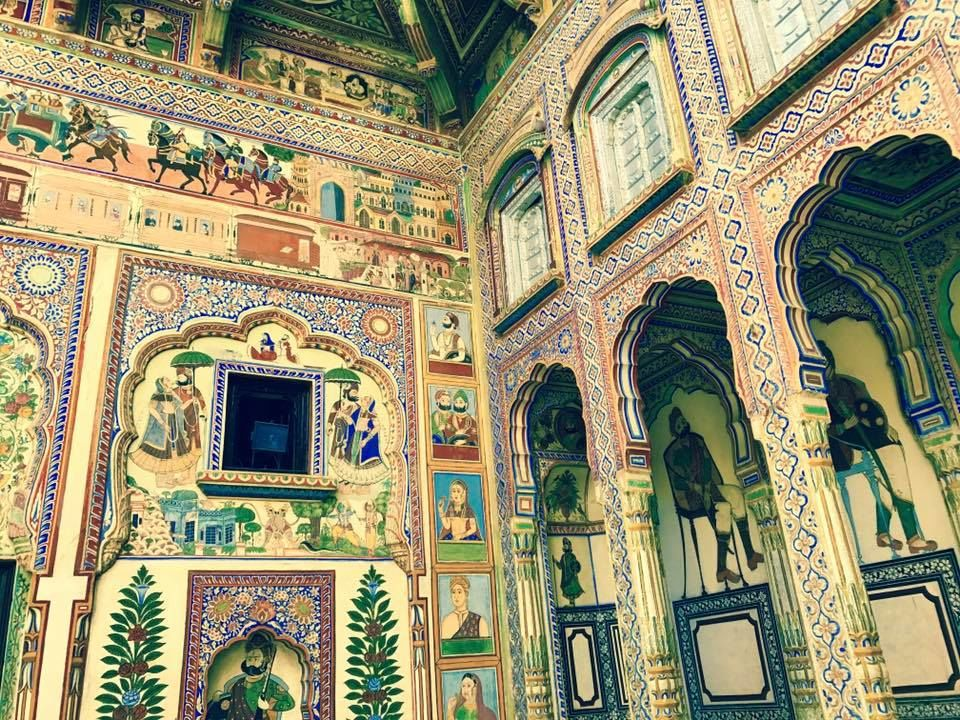 Mandawa; Traveling back in time to the glory of the thikana at Silk Route!