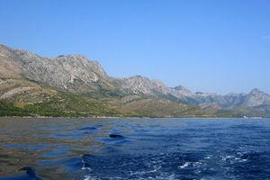 Hiking along the Croatian coast