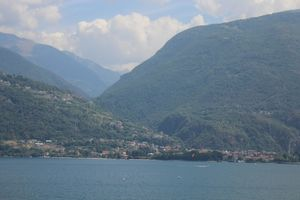 Lakes on Swiss-Italian Border