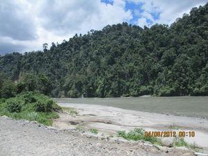 On the road to Arunachal Pradesh