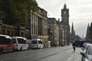 Rain, Sun and Coffee in Edinburgh