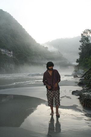 Rudra Prayag & the Mist of Alaknanda