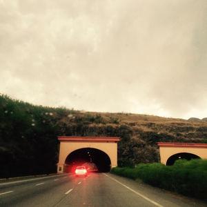 Western highway via road