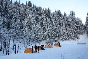 My first encounter with snow – Kedarkantha trek