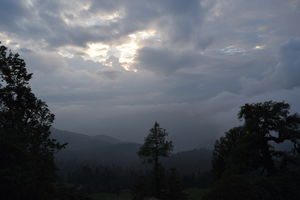 Lord of the Peaks and the placid Deoria Tal