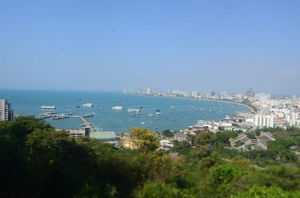 An afternoon at Pattaya view point