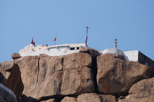 Anjaneya Temple- The highest point in Hampi