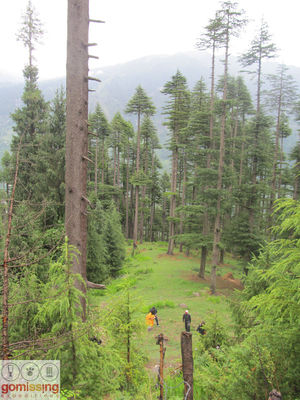 The adventure trail to Khanpari – Lama dug trek