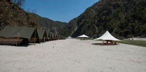 Beach Camping at Byasi