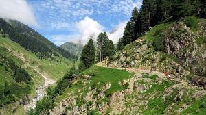 Tarsar: The Blue Lake of Kashmir