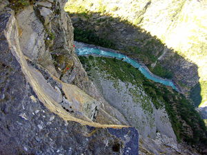 Riding on the world's most dangerous road, which is in India