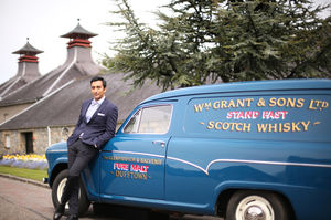 Rahul Khanna on a glamorous whisky tour of Scotland will be your new #wandercrush