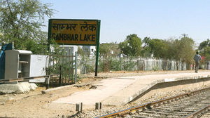 Sambhar Lake Railway Station 1/1 by Tripoto