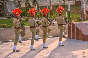 Saqdi, Indo-Pak Border Punjab - A day trip to retreat ceremony