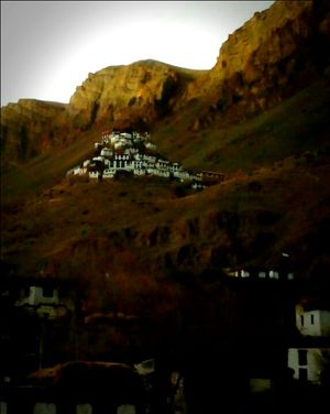 Road to Kye, Spiti Valley