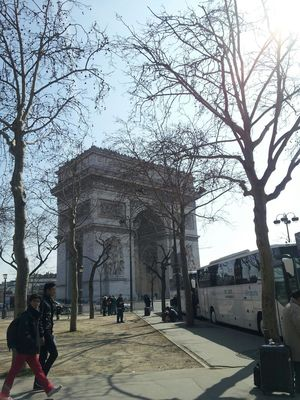 LongWeekend in Beautiful Paris- my 9 yrs old and I