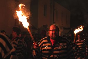 Remember, remember the 5th of November: Bonfire Night, Lewes, UK.