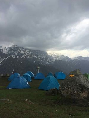 A trek, Planned within half an hour