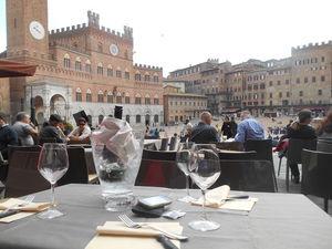 Stumbling along in Siena