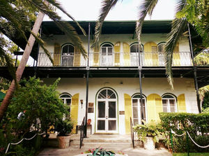 A Travel In Time: The Hemingway Home, Key West, Florida