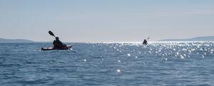 Sea Kayaking in Croatia - Speed boat, leisure kaya