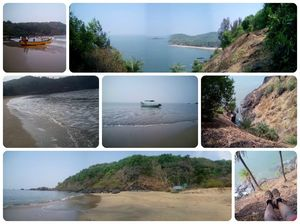 Beach Trek in Gokarna; the Trail Tale