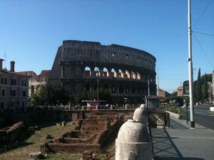 Eating, Praying, Loving in Rome.