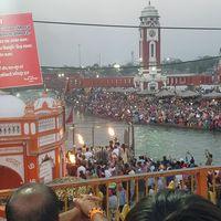 Ganga Aarti at Haridwar 2/2 by Tripoto