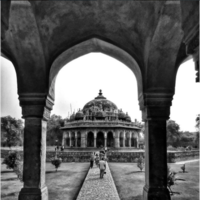 Isa Khan's Tomb 2/5 by Tripoto