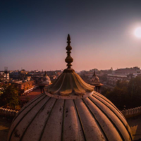 Fatehpuri Mosque 4/4 by Tripoto