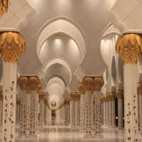 Sheikh Zayed Grand Mosque Center 2/3 by Tripoto
